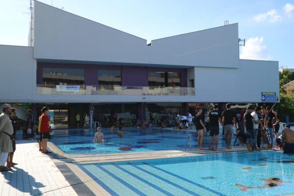 SAUVC pool