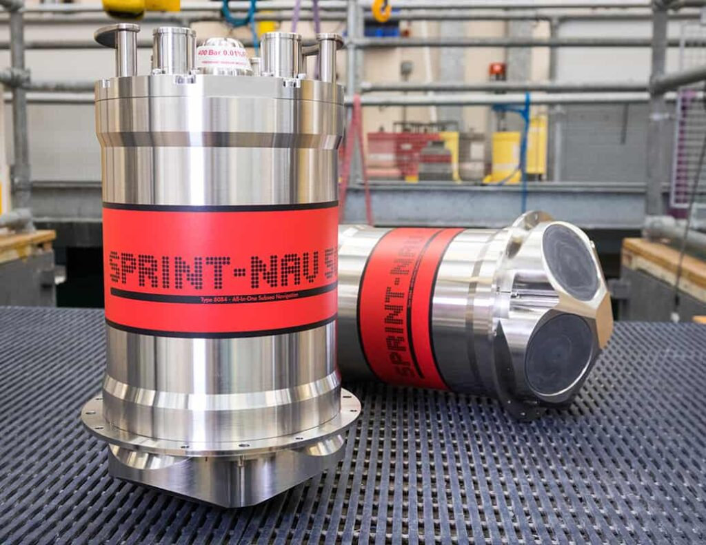 SPRINT-Nav by test tank